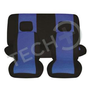 Prevleke za avto 6-delne modre