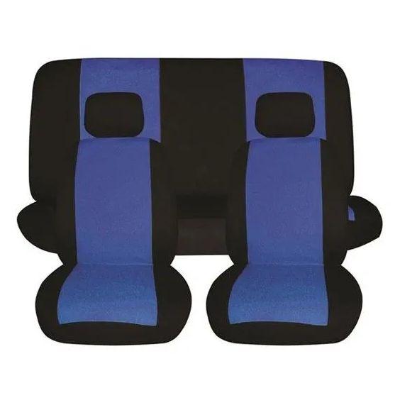 Prevleke za sedeže 6-delne modro črne