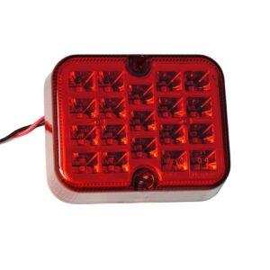 LED luč meglenka rdeča 12V