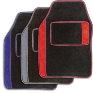 Avtomobilska preproga Linea tekstil UNI črno-siva