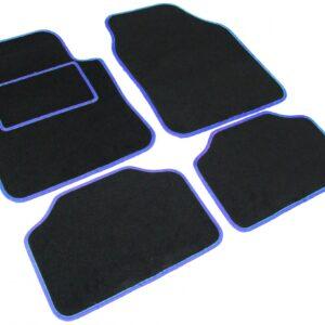 avtomobilska preproga Road tekstil UNI 2, črno-modra