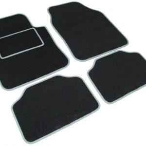 avtomobilska preproga Road tekstil UNI 2, črno-siva